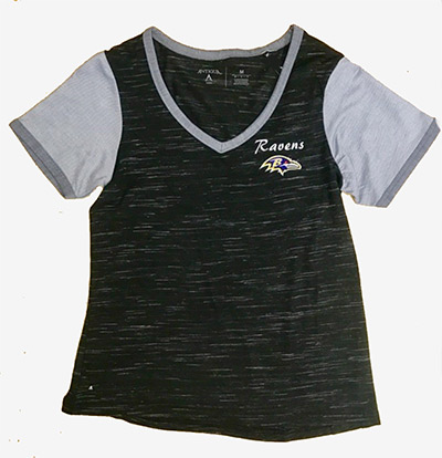 Baltimore Ravens Ladies Rival T-Shirt