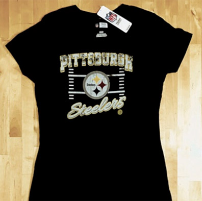 Pittsburgh Steelers Ladies T-Shirt
