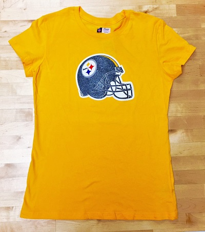 Pittsburgh Steelers Ladies Team Color T-Shirt