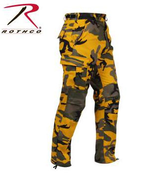 Rothco Stinger Yellow Tactical BDU Fatigue Pants