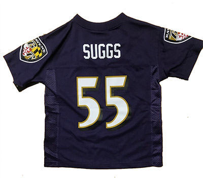 Baltimore Ravens Terrell Suggs Toddler Jersey