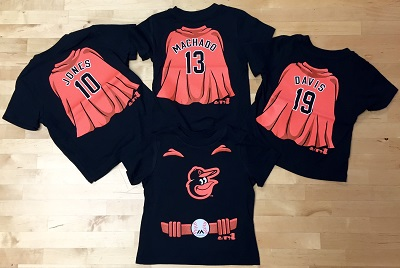 Orioles Super Hero Player T-Shirt