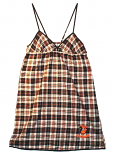 Concept Sports Orioles Plaid Nightgown