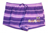 Concept Sports Ravens Purple Striped Shorts