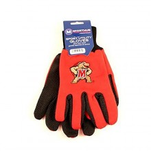 Maryland Terps Work Gloves