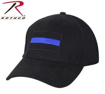 Thin Blue Line Adjustable Hat By Rothco