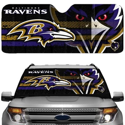 Baltimore Ravens Auto Shade