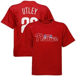 Phillies Youth Utley T-Shirt