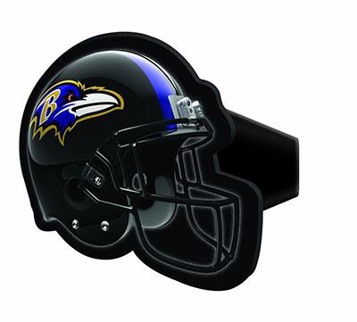 Baltimore Ravens Helmet Hitch Cover