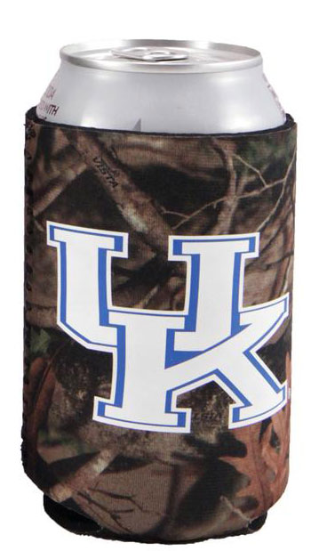 University Of Kentucky Camo Koozie