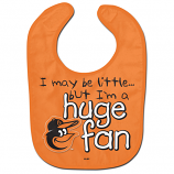 Orioles Huge Fan Baby Bib