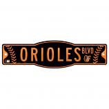 Orioles Blvd Sign