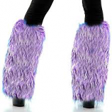 Purple Leg Warmer