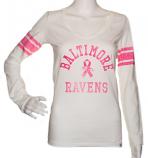Baltimore Ravens Women's V-Neck Long Sleeved Shirt