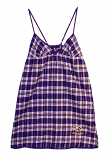 Concept Sports Ravens Plaid Nightgown