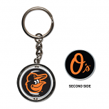 Orioles Spinner Metal Key Chain