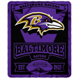Baltimore Ravens Fleece Throw
