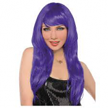 Ladies Purple Wig