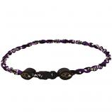 Baltimore Ravens Twisted Titanium Sport Necklace