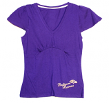 Luxe V-Neck T-Shirt Ravens