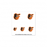 Baltimore Orioles Nail Tattoos