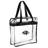 Baltimore Ravens Clear Messenger Basic Tote Bag